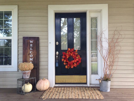 Decorating Your Front Porch for Fall