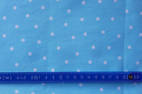 023. white dots on baby blue