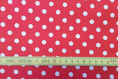 003. white dots on red