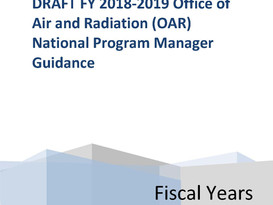 Draft EPA National Program Managers Guidance Suggests Focus on Monitoring and Timely Permit Issuance