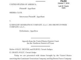 Fifth Circuit Holds No Time Bar for Federal PSD Injunctive Relief