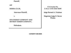 DTE and DOJ to settle Monroe Case