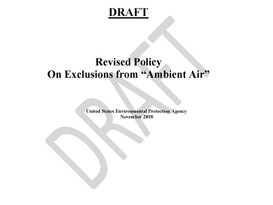 "EPA Refines ""Ambient Air"" Policy"