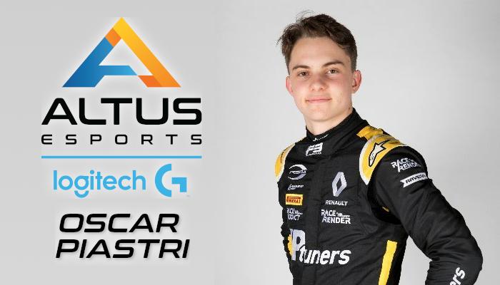 Oscar Piastri joins Altus!