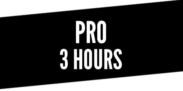 3 Hour Pro Driver Training