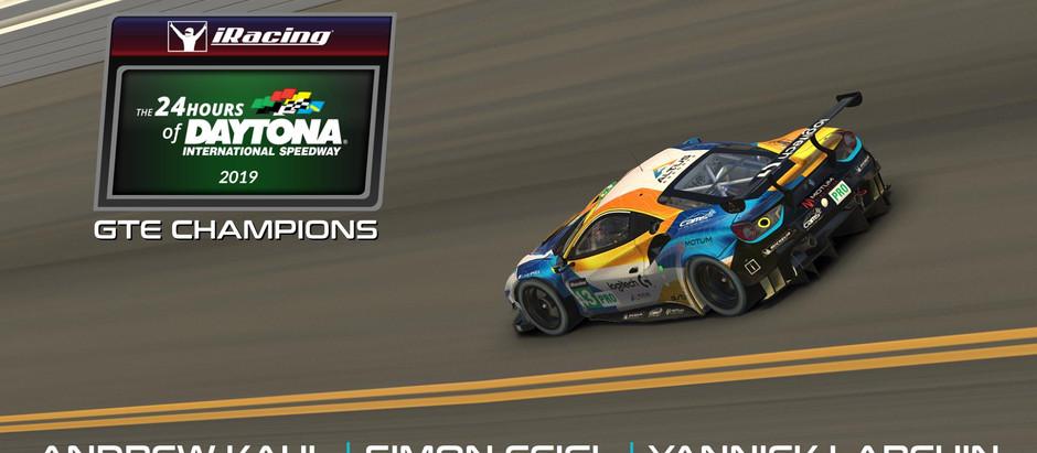 Double 24 Hours of Daytona Winners!