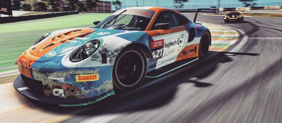Bruising Opener in FYRC Porsche