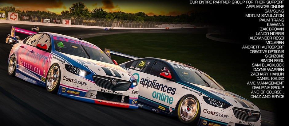 Supercars All Star Eseries comes to a close