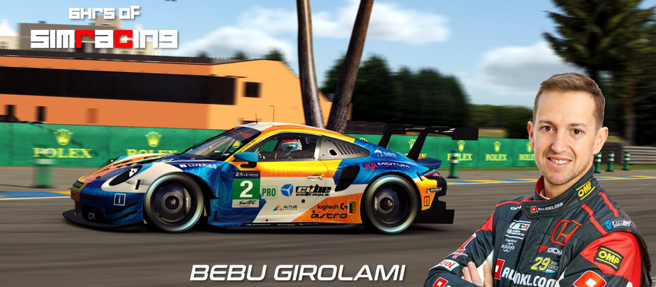 6H of SimRacing race with Nestor Girolami as a guest