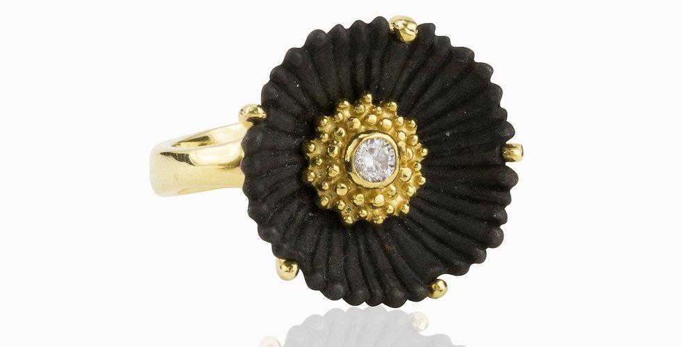 Flowering Coral Medium Diamond Ring