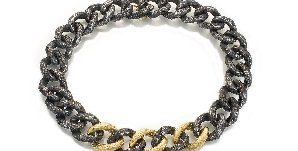 Foil Large Link Necklace