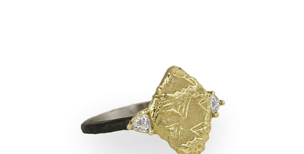 Trigon Diamond Shape Ring