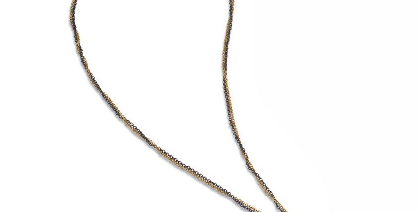 Iron Sapphire Necklace