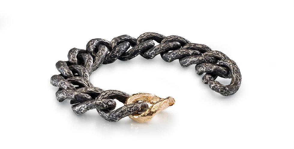 Foil Large Link Bracelet