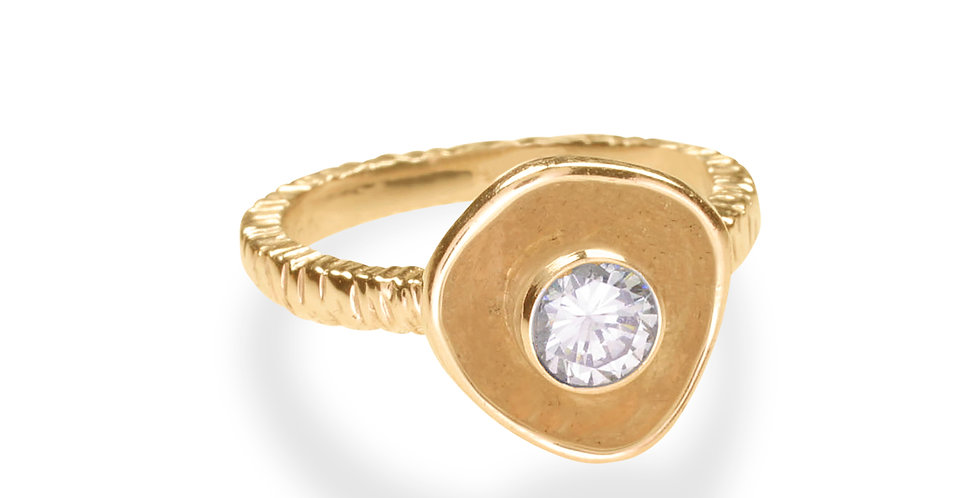 Confluence Single Cup Diamond Ring