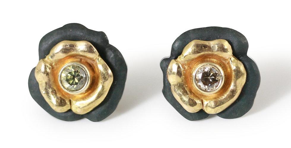 Bee Stud Diamond Earrings