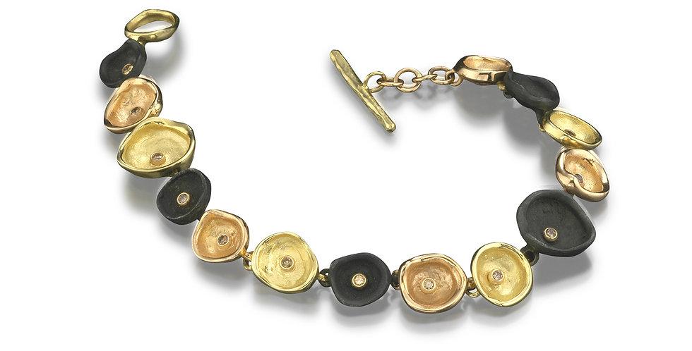 Confluence Link Diamond Bracelet