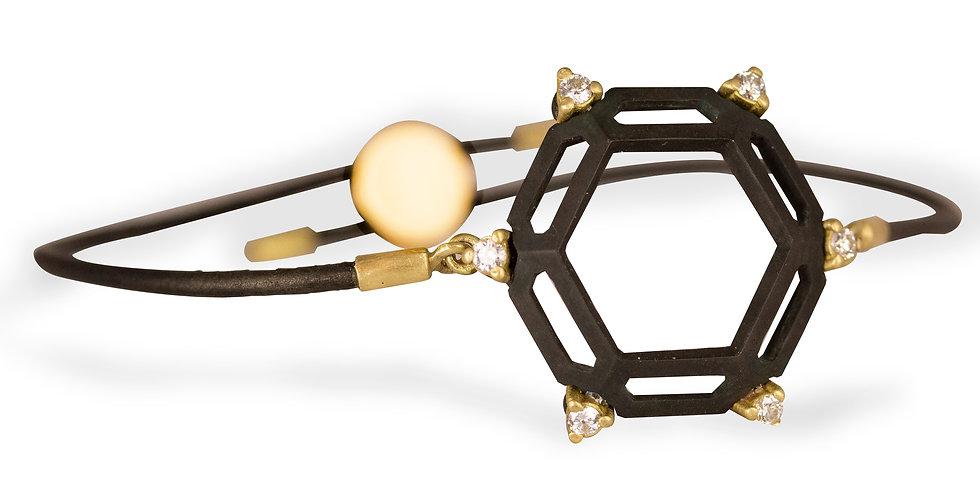 Hex Diamond Bracelet