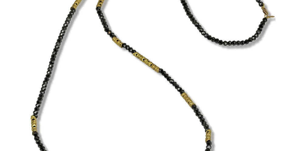 Aspen Spinel Bead Stick Necklace