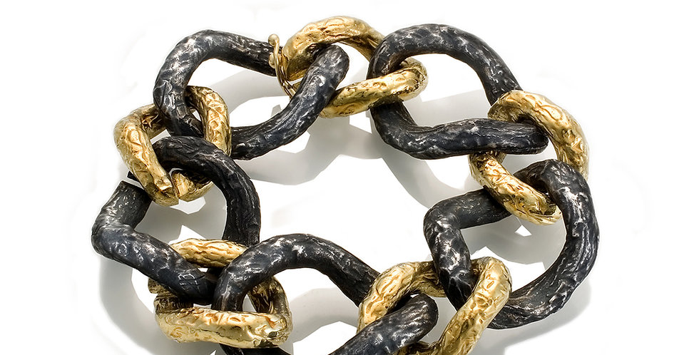 Foil Link Bracelet