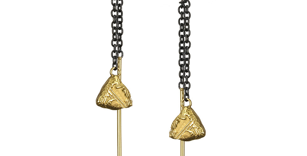 Trigon Threader Earrings