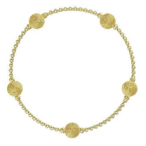 Round Disc Bracelet