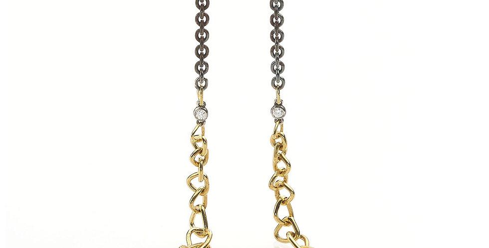 ONE OF A KIND Trigon Diamond Necklace