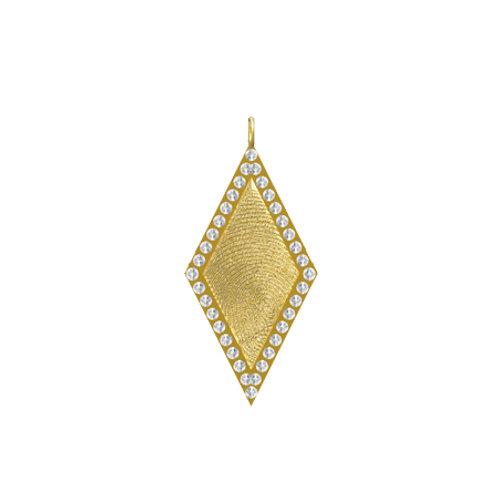 Diamond Diamond Pendant