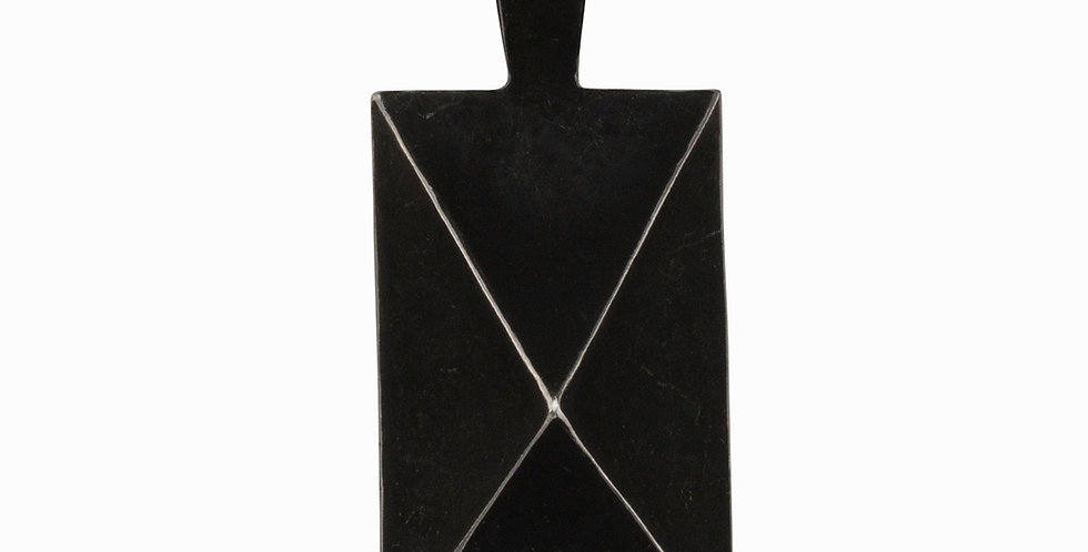 Mr. Graham Spear Rectangle Pendant
