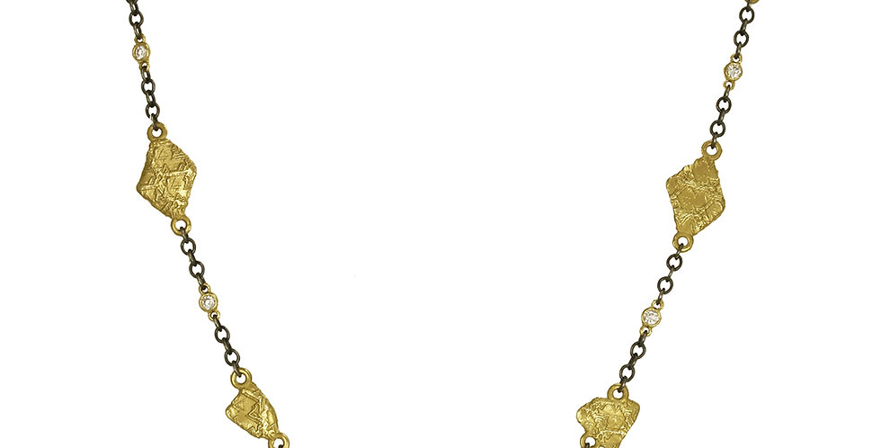 Trigon Seven Link Diamond Necklace