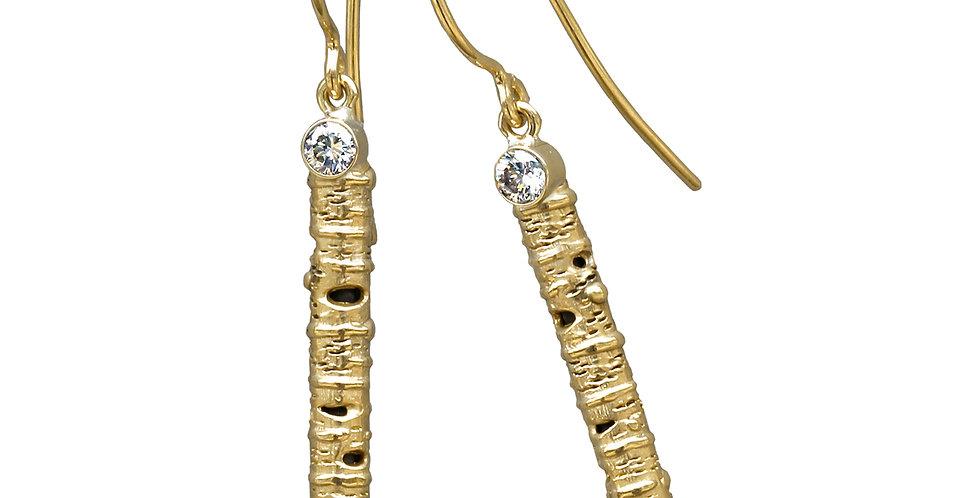 Aspen Stick Layered Earrings