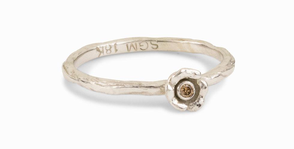 Bee Diamond Stacking Ring