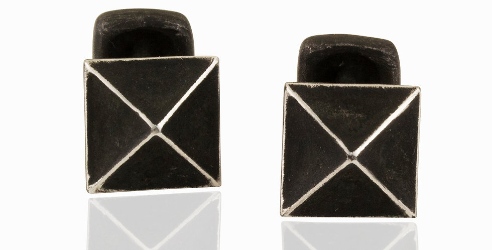 Mr. Graham Spear Square Cuff Links