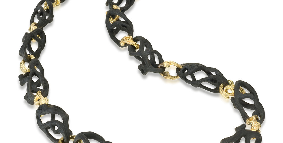 Shadow Dome Link Necklace