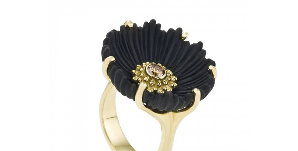 Flowering Coral Large Diamond Ring