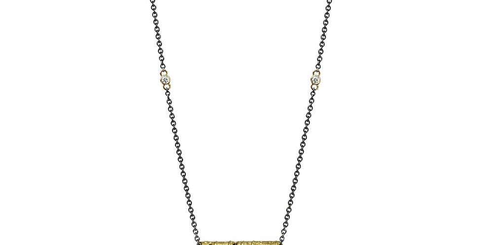 Aspen Single Stick and Diamond Necklace