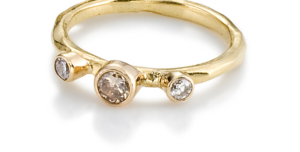 Rogue River Diamond Stacking Ring
