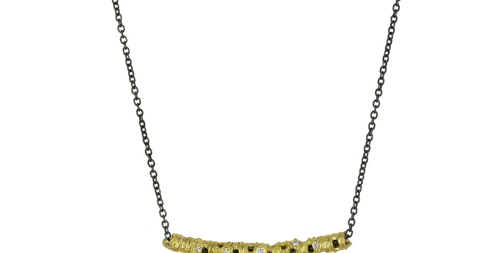 Aspen Curved Stick Necklace