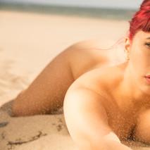 Implied Nude on the Beach