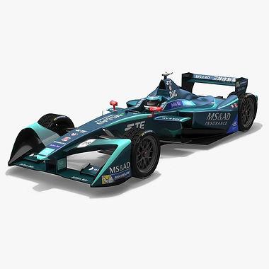 MS&AD Andretti Formula E Season 2017 2018 3D model
