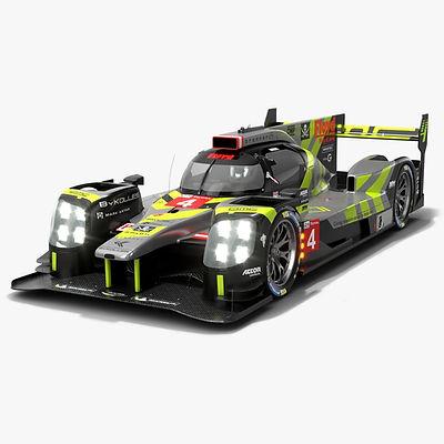 ByKolles Racing ENSO CLM P1-01 Le Mans LMP1 Season 2020 Low-poly PBR 3D model