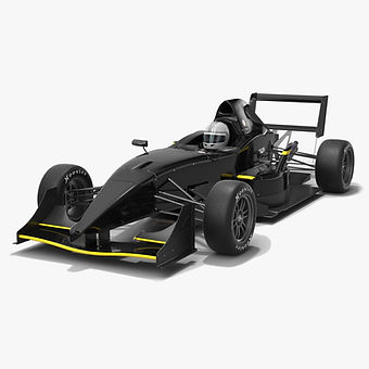 Formula 1000 RFR F1000 Race Car Low-poly PBR 3D model