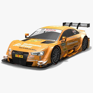 Audi Sport Team Rosberg 53 DTM Season 2016 3D model
