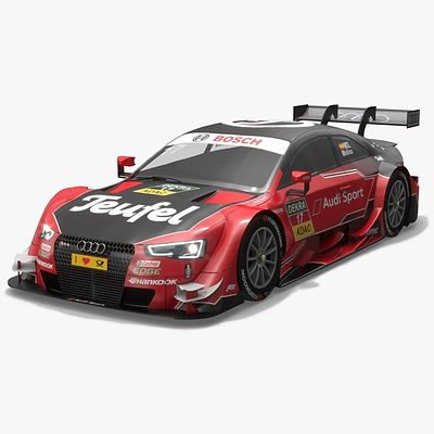 Audi Sport Team Abt 17 DTM Season 2016 3D model