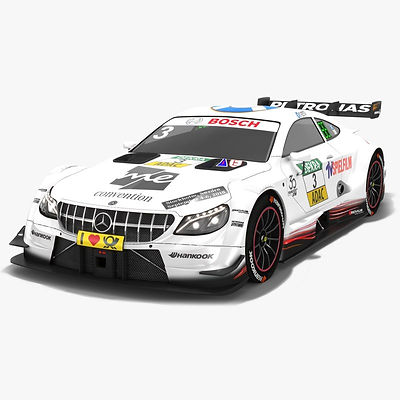 Mercedes-AMG C63 DTM #3 Paul di Resta Season 2018  3D model