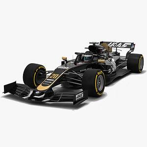 Haas F1 VF-19 #20 Formula 1 Season 2019 Low-poly PBR 3D model