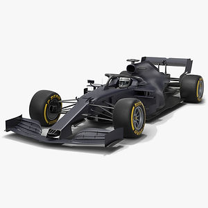 Grey Cat GC16 Formula 1 F1 Season 2020 Low-poly PBR  3D model