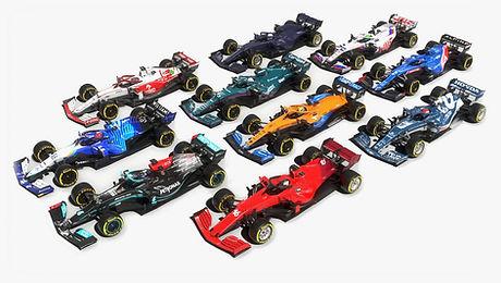 Formula 1 Season 2021 Race Car 3D model