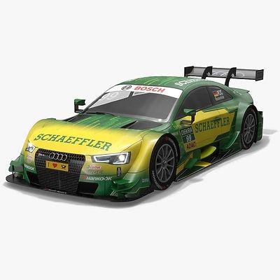 Audi Sport Team Phoenix 99 DTM Season 2016 3D model