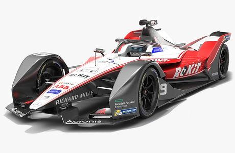 ROKiT Venturi Racing Formula E Season 2019 2020 Low-poly PBR 3D model